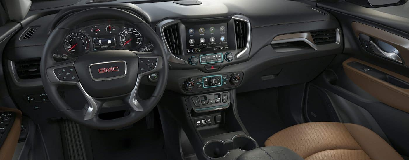 2019 GMC Terrain Features Dashboard