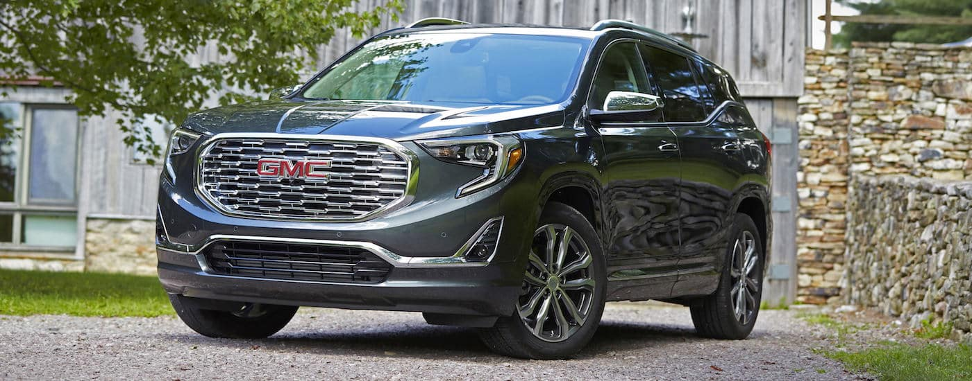 2019 GMC Terrain Parked in Driveway for Utility