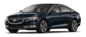 Navy blue 2019 Buick Regal