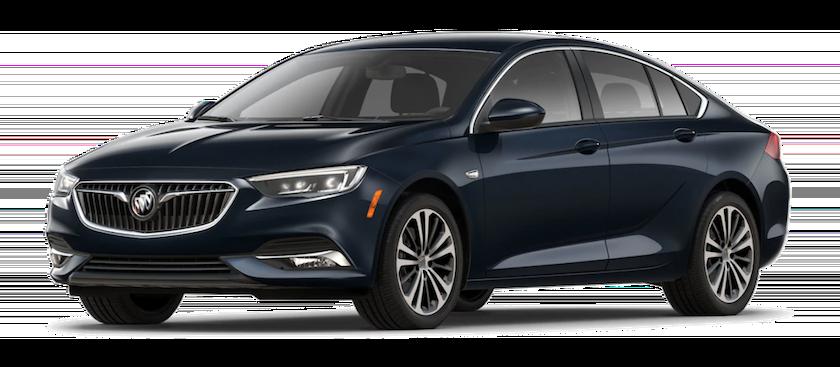 Navy blue 2019 Buick Regal