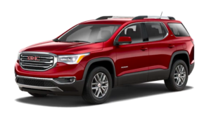 Red 2019 GMC Acadia