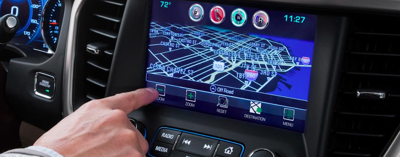Touchscreen in 2019 GMC Acadia