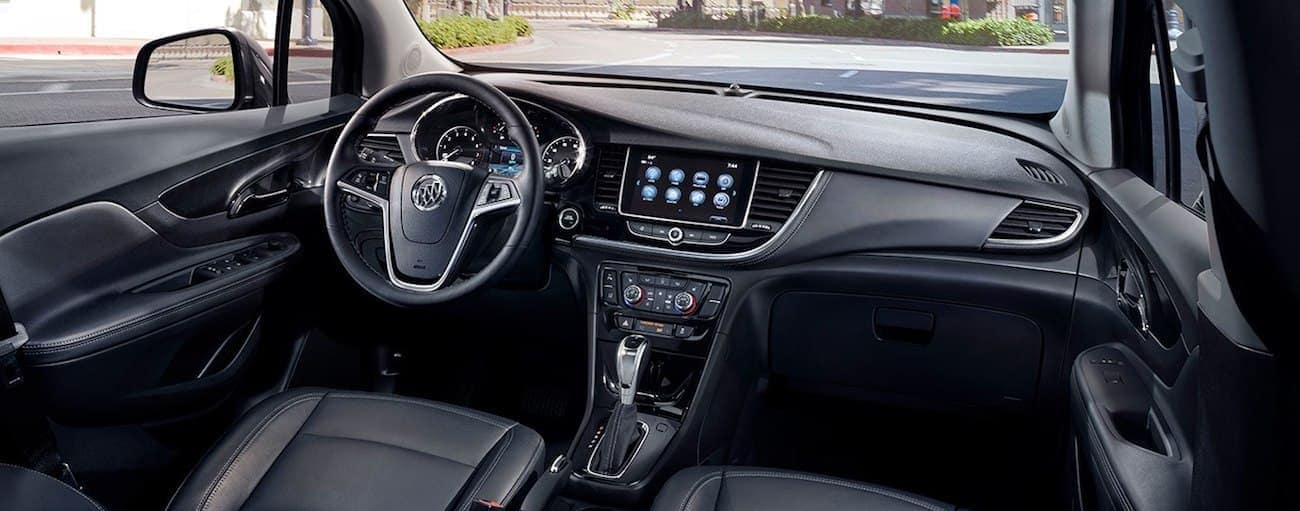 The high tech interior of the 2019 Buick Encore