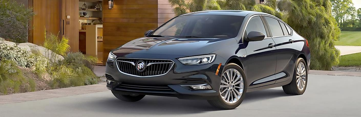 2019 Buick Regal Sportback exterior front fascia and passenger side