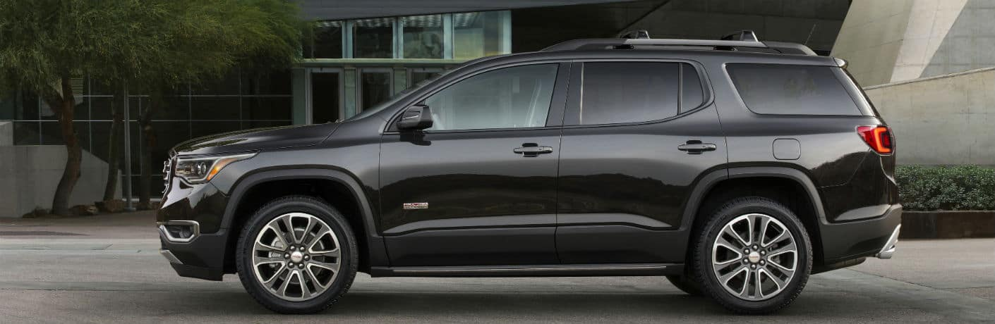 2019-GMC-Acadia-All-Terrain exterior driver side profile