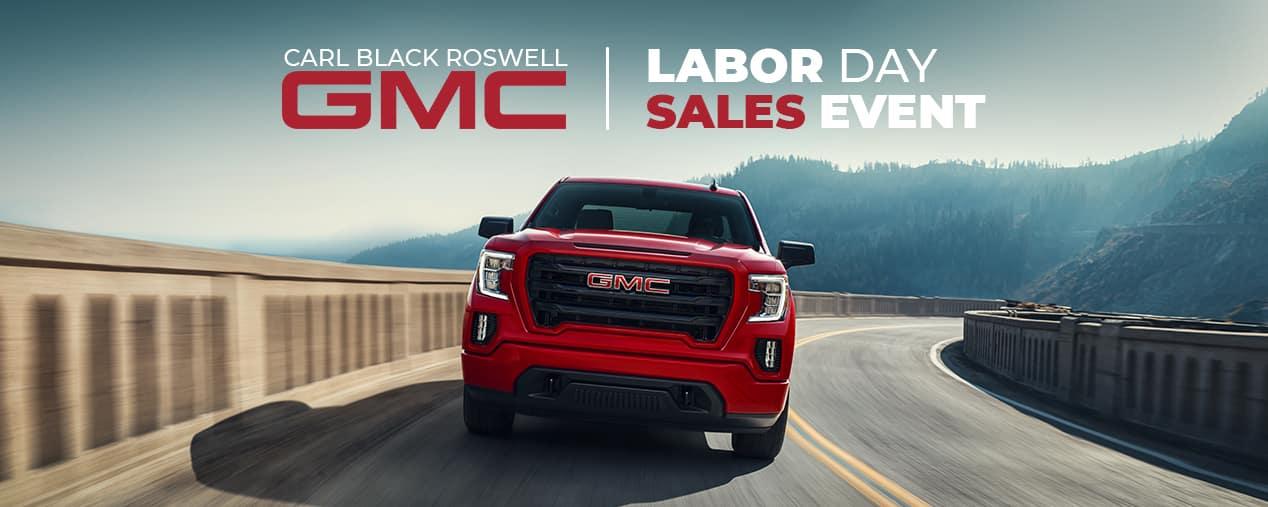 GMC Labor Day Sales Event