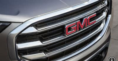 2020 GMC Terrain exterior close up of front fascia
