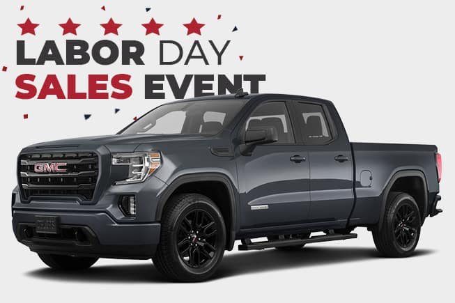GMC Labor Day Sales Event Sierra 1500 Double Cab