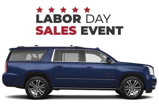 GMC Labor Day Sales Event Yukon