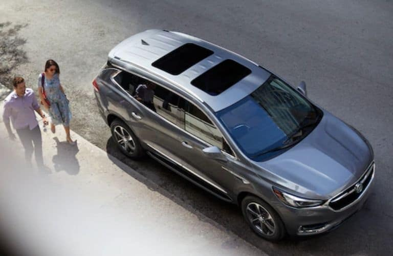 2020 Buick Enclave exterior design viewed from above