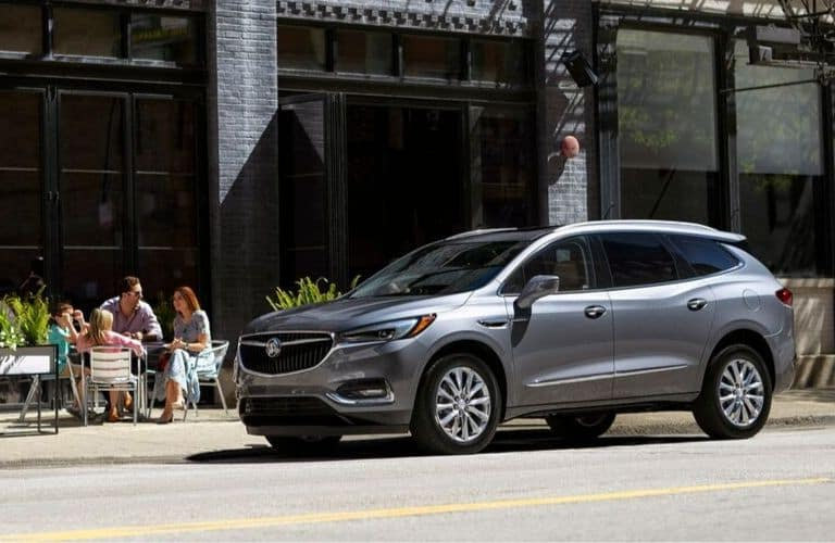 2020 Buick Enclave parked along city street