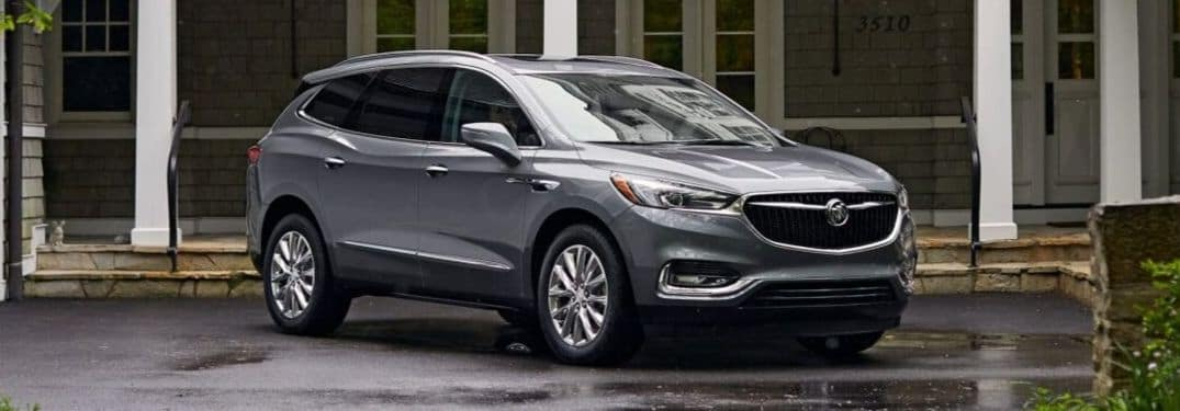 2020 Buick Enclave in residential driveway