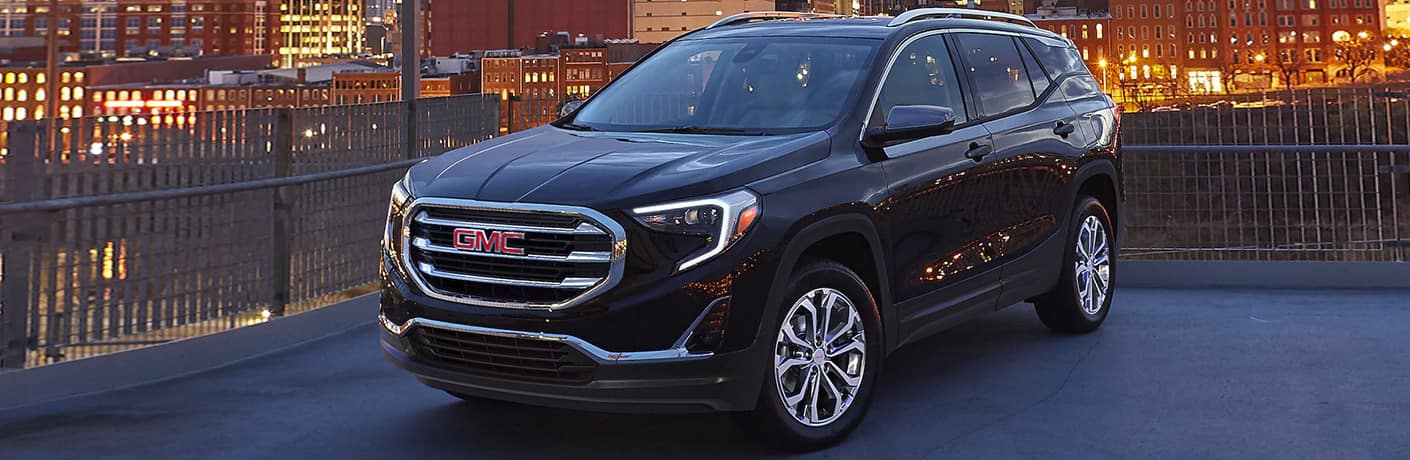 2020 GMC Terrain by scenic city overlook