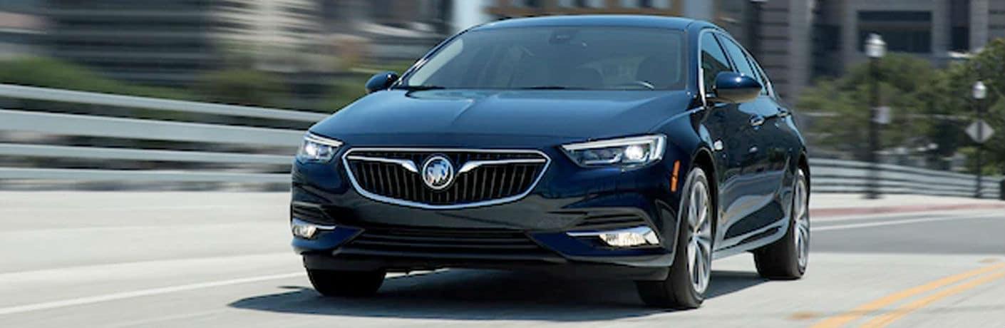 2020 Buick Regal Sportback front fascia driving