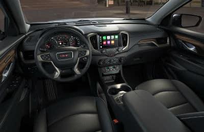 2020 GMC Terrain interior dashboard steering wheel center console
