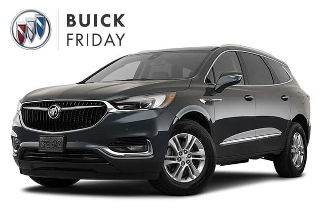 Buick Enclave Black Friday Sales Event
