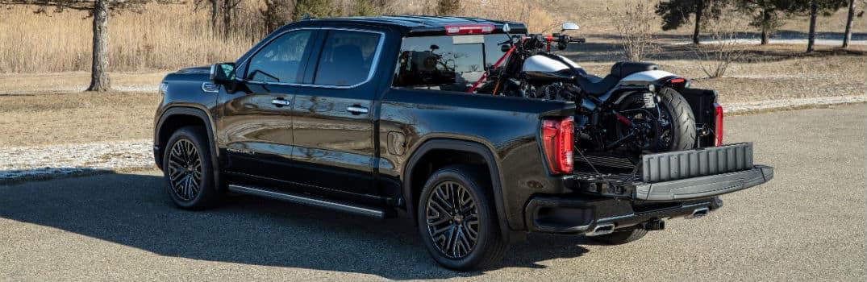 2019 GMC Sierra Denali CarbonPro Edition Exterior Driver Side Rear Profile