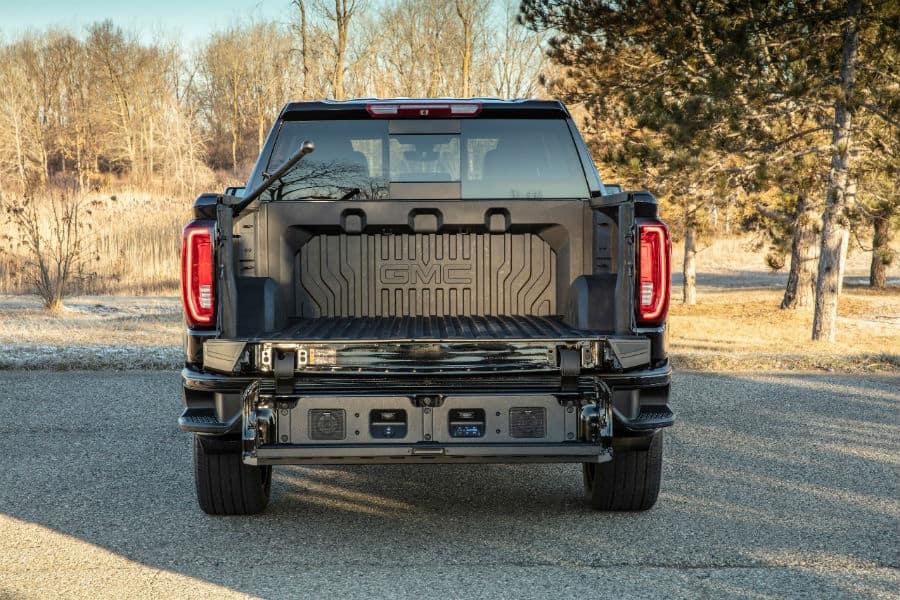 2019 GMC Sierra Denali CarbonPro Edition Exterior Rear Truck Bed