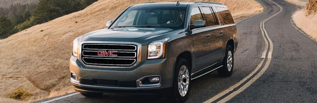 2020 GMC Yukon Exterior Driver Side Front Profile