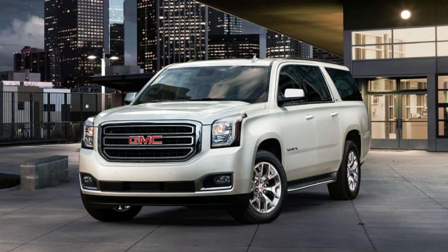 2020 GMC Yukon XL Exterior Driver Side Front Profile