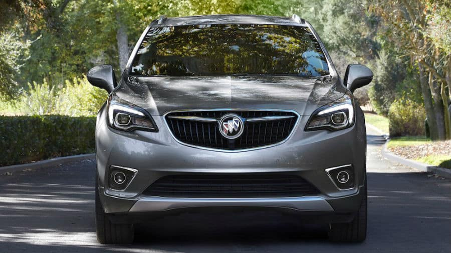 2020 Buick Envision Exterior Front Fascia