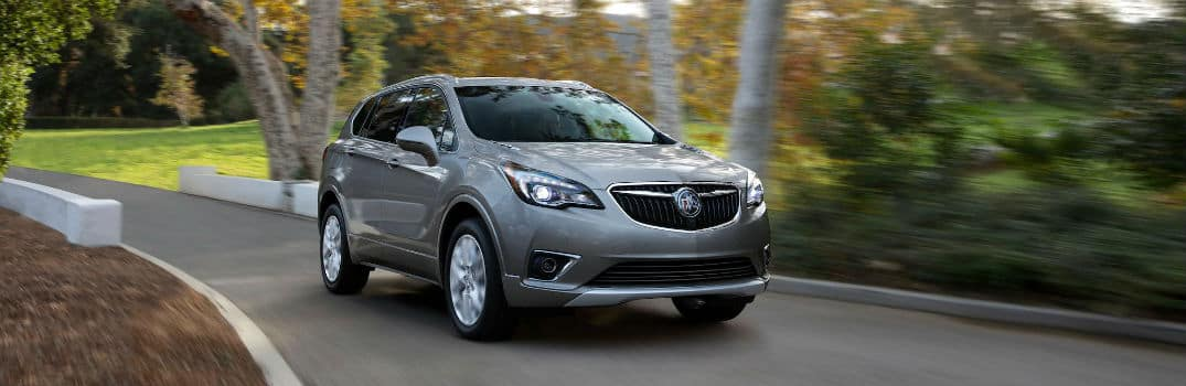 2020 Buick Envision Exterior Passenger Side Front Angle