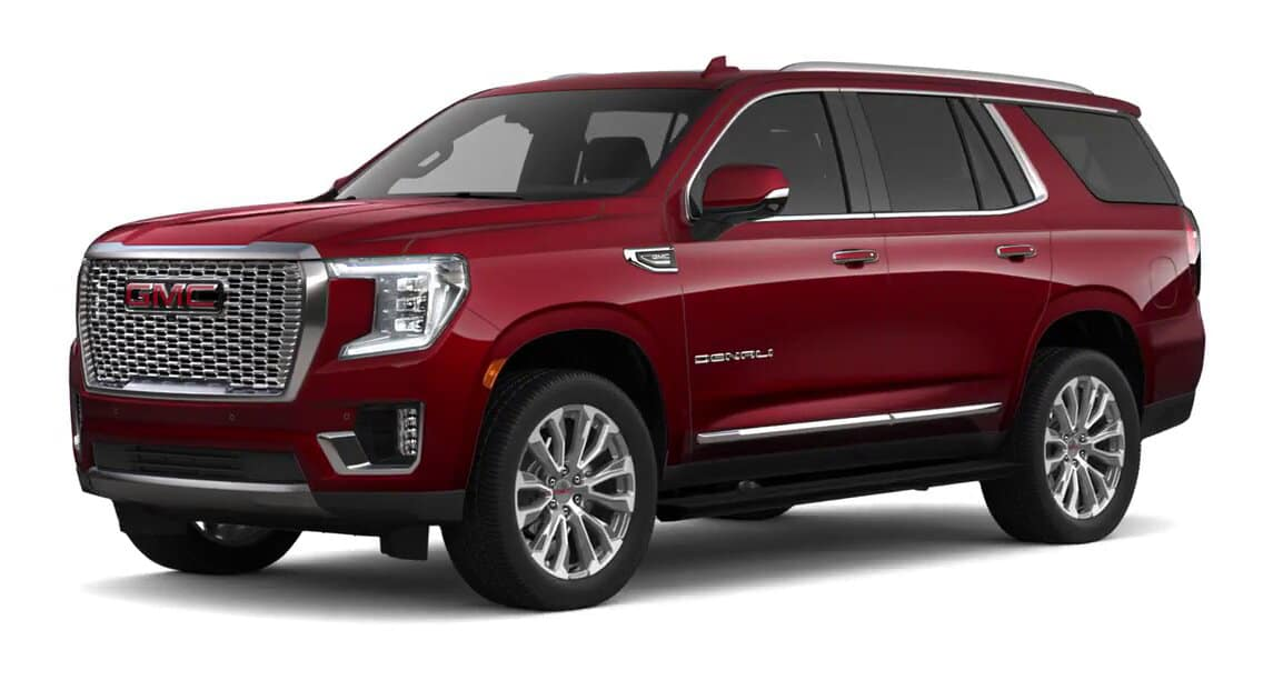 2021 GMC Yukon Cayenne Red Tintcoat Color