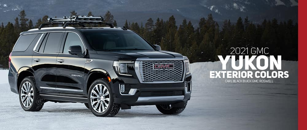 2021 Gmc Yukon And Yukon Xl Color Options Carl Black Roswell