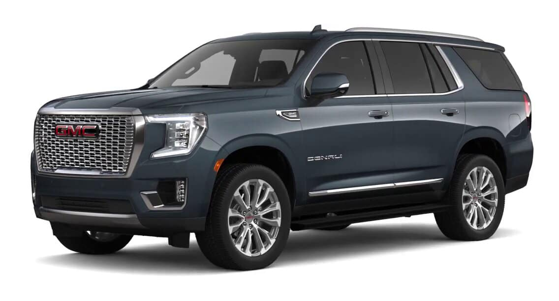 2021 GMC Yukon Dark Sky Metallic Color