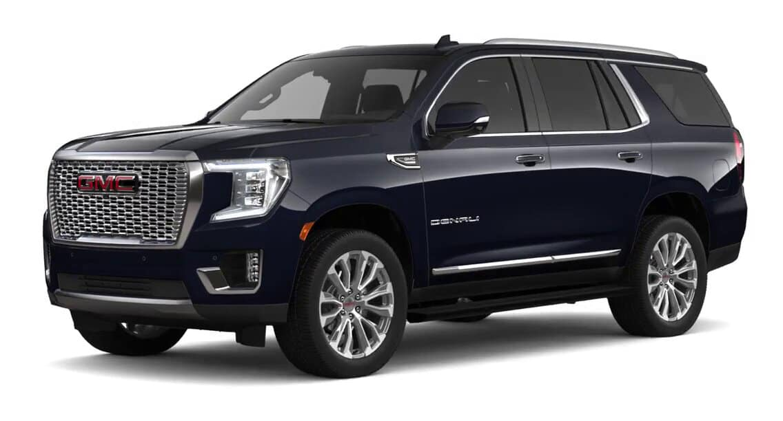 2021 GMC Yukon Darkmoon Blue Metallic Color