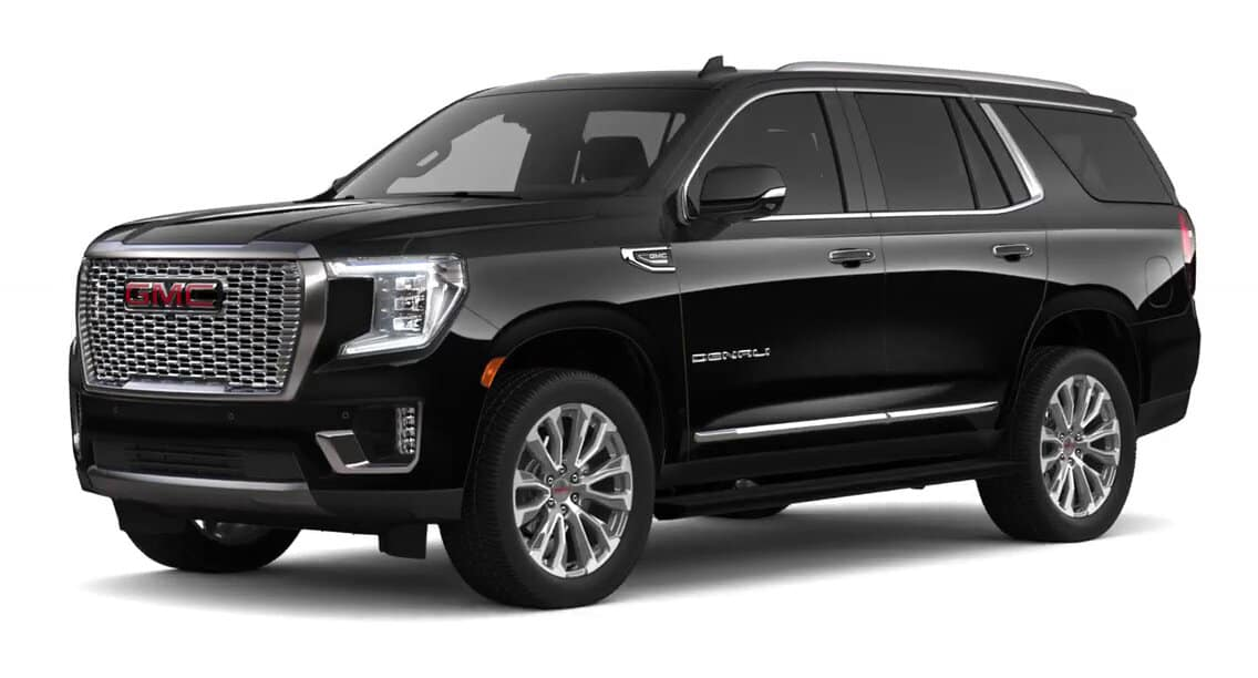 2021 GMC Yukon Onyx Black Color