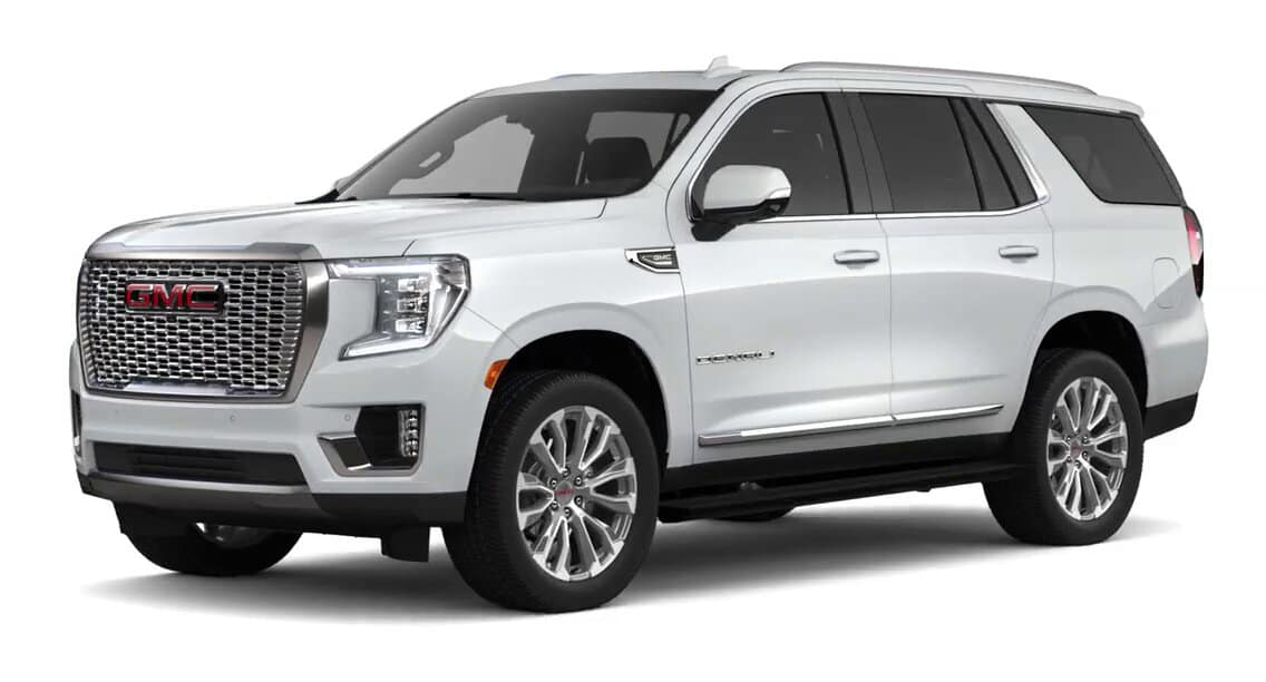 2021 GMC Yukon Summit White Color