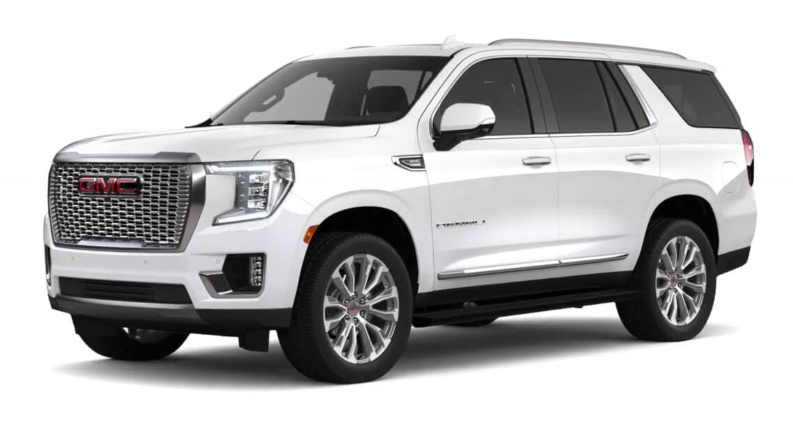 2021 GMC Yukon White Frost Tricoat Color