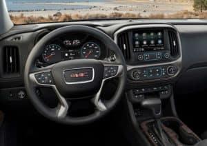 2021 GMC Canyon Denali Interior Cabin Dashboard