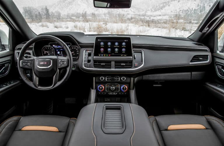 2021 GMC Yukon AT4 Interior Cabin Dashboard