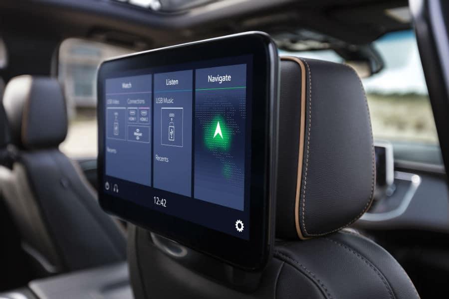 2021 GMC Yukon AT4 Interior Cabin Rear Seat Entertainment System