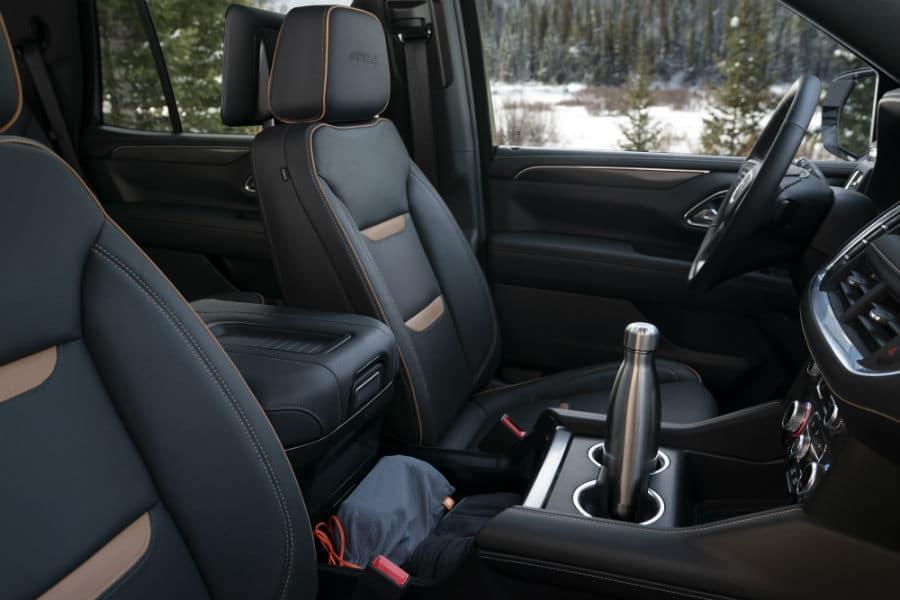 2021 GMC Yukon AT4 Interior Cabin Seating