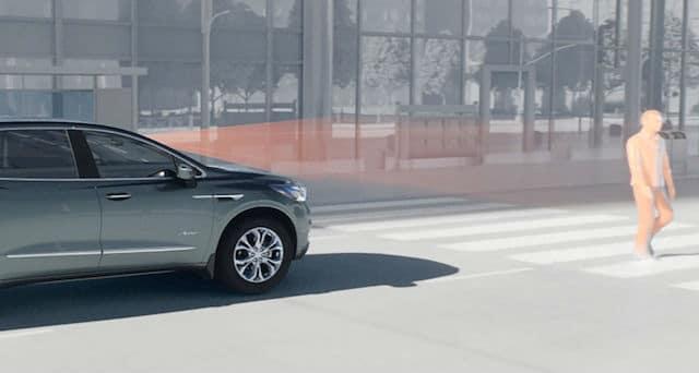 Buick Front Pedestrian Braking Simulation