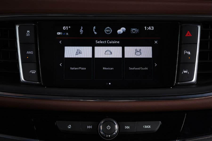 Buick Infotainment System Yelp Screen 2