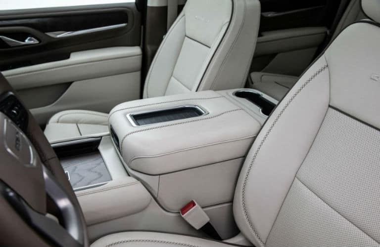 2021 GMC Yukon Denali Interior Cabin Seating