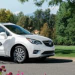 2020 Buick Envision Exterior Passenger Side Front Profile