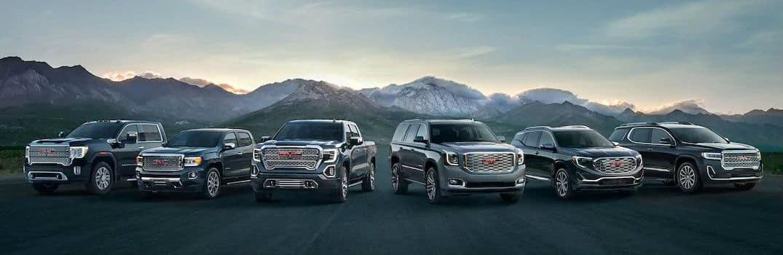 2020 GMC Lineup of Trucks Crossovers SUVs