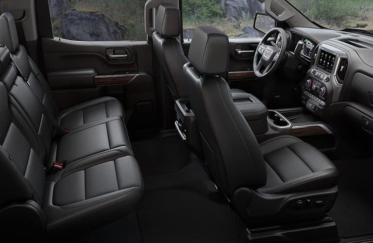 2020 GMC Sierra 1500 Interior Cabin Seating & Dashboard