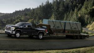 2020 GMC Sierra HD Towing Something Huge