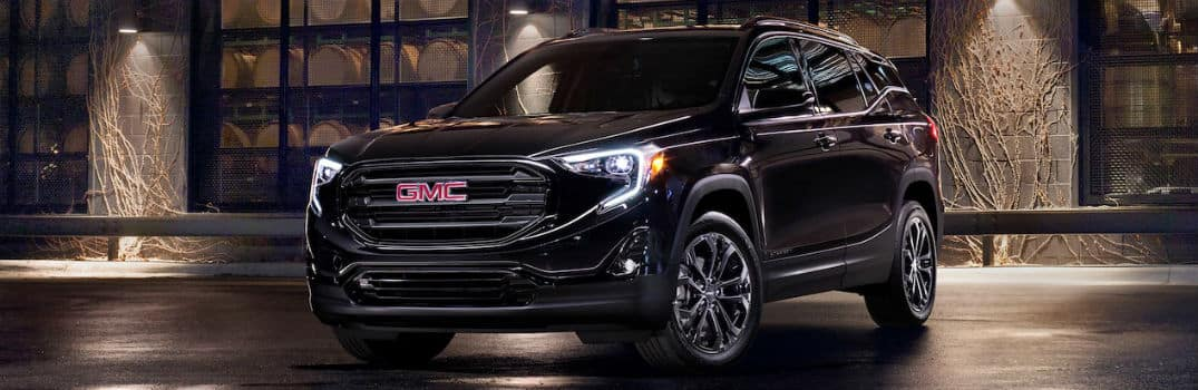 2020 GMC Terrain Exterior Driver Side Front Angle