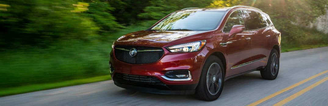 2020 Buick Enclave Sport Touring Exterior Driver Side Front Profile