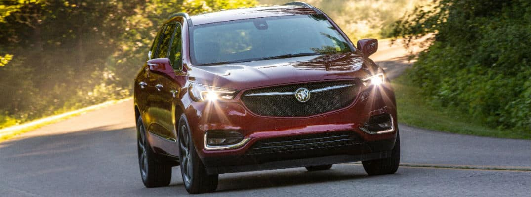 2020 Buick Enclave Sport Touring Exterior Passenger Side Front Angle