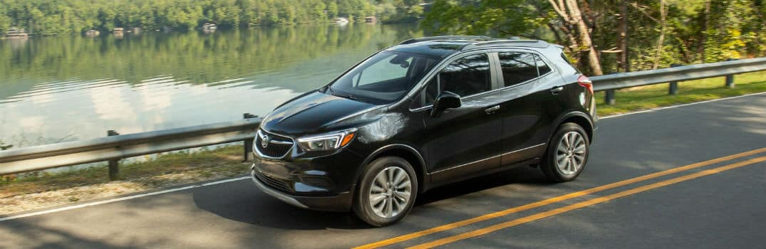 2020 Buick Encore Exterior Driver Side Front Profile by Lake