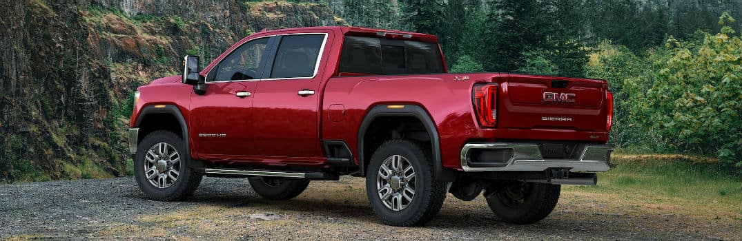 2020 GMC Sierra 2500HD Exterior Driver Side Rear Profile