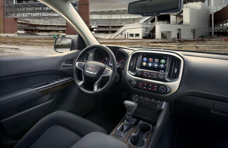 2020 GMC Canyon Interior Cabin Dashboard